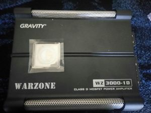 New in box gravity 3000w amp for Sale in Oakland, CA