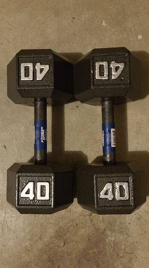 New Dumbbell Weights 40 LB for Sale in Newport News, VA
