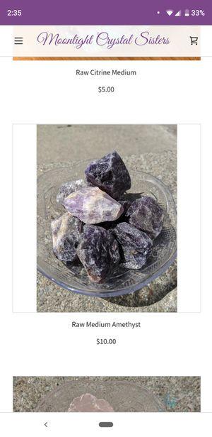 Raw Medium Amethyst $10 each for Sale in Oakland, CA