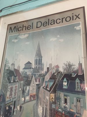 Michel Delacroix French painter for Sale in Anaheim, CA