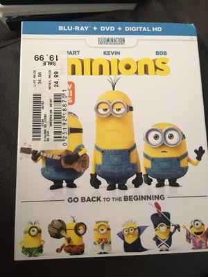 Minions Blu-Ray /DVD for Sale in Wahiawa, HI