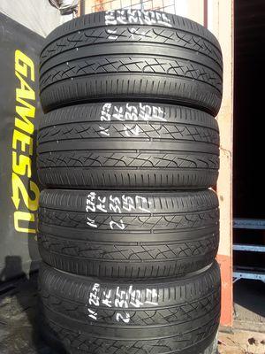 235/45-17 #4 tires for Sale in Alexandria, VA
