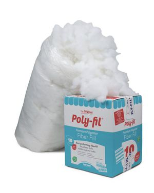 [NEW] 10lbs Poly-fil Premium Polyester Fiber Fill for Sale in Los Angeles, CA