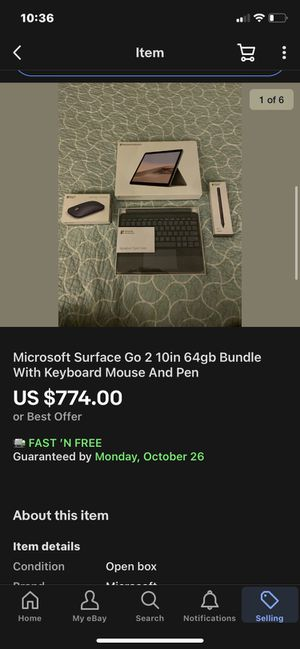 Microsoft Surface Go 2 for Sale in Crosby, TX