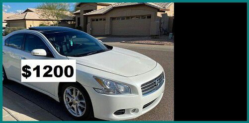 2009 Nissan Maxima only$1200