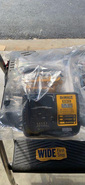 DEWALT CHARGER DCB112-12V /20V—2 BATTERY 2AH NEW for Sale in Raleigh, NC