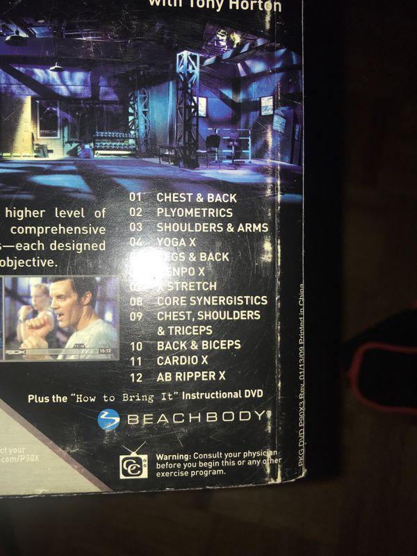 P90X DVD set