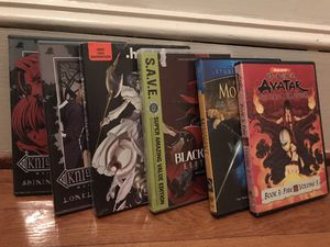 Anime show volumes and complete series DVD TV for Sale in Petersburg, VA