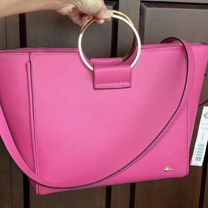 Kate Landry Pink Tote Purse for Sale in New Port Richey, FL