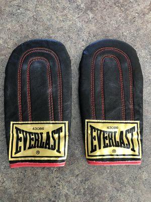 Everlast black leather Advanced speed bag gloves for Sale in Dublin, OH