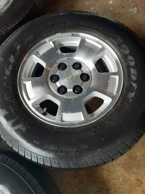 Chevy rims silverado for Sale in Houston, TX