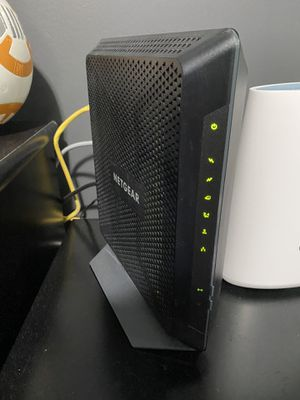 Netgear router modem speed up to 1gb $100 for Sale in Shorewood, IL
