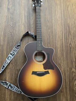 Taylor brand acoustic guitar and case for Sale in Franklin,  TN