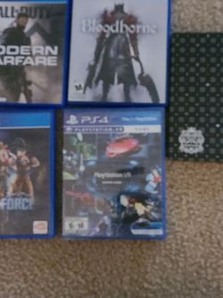 Modern Wafare, Jump Force, Blood Borne, Kingdom Hearts for Sale in Troutdale,  OR