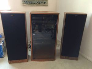 Vintage Sony Home Stereo System for Sale in Carlsbad, CA
