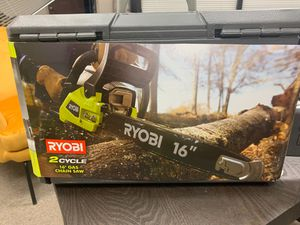 "Ryobi 2 cycle Gas 16"" Chain Saw for Sale in San Marcos, CA"