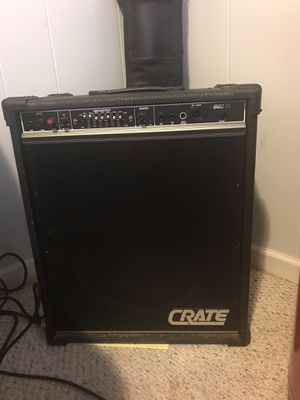 Crate Amp Ibanez bass , Stratocaster guitar for Sale in Bordentown, NJ