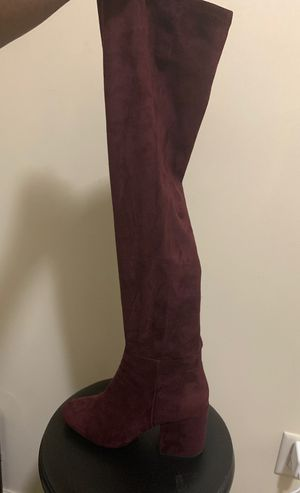 Aldo Suede Knee High Boots for Sale in MIDDLE CITY WEST, PA