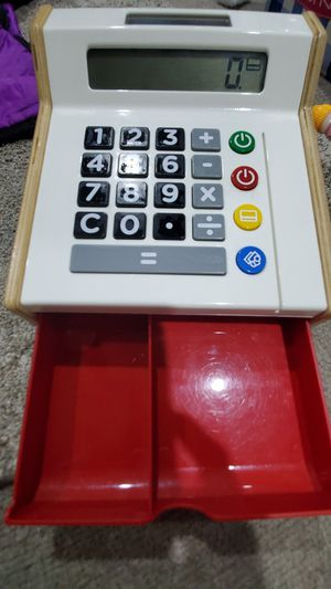 Cash Register Calculator Play Toy for Sale in Corona, CA