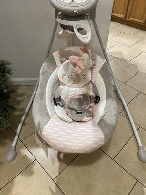 Ingenuity Unicorn baby swing for Sale in Lake Mary, FL