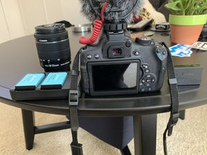 Canon Rebel T6i and accessories for Sale in Fullerton, CA