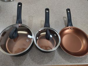 Small Non Stick Cooking Pots and Pan for Sale in Tampa, FL