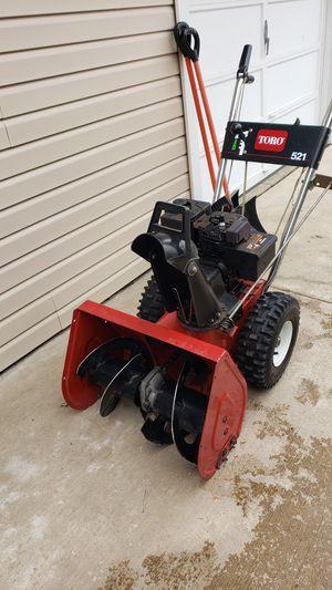 Toro snow blower for Sale in Schaumburg, IL