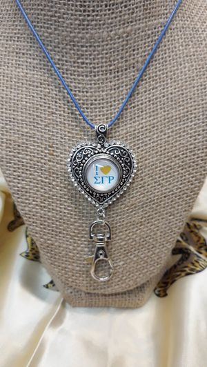 Sigma Gamma Rho Necklace with Badge Holder ( SHIPPING ONLY) for Sale in Jacksonville, FL