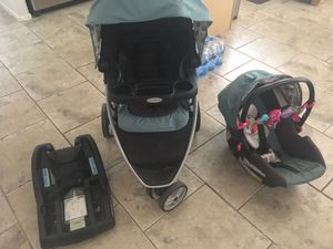 Graco Pace click connect travel system for Sale in Phoenix, AZ