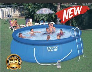 "Intex 18' x 48"" Easy Set Swimming Pool Kit w/ 1500 GPH GFCI Filter Pump, 26175EH (Retail $1449.99) for Sale in Phoenix, AZ"