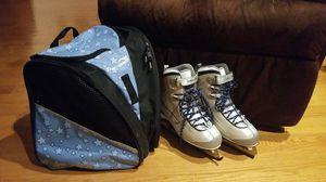 WOMENS Lake Placid Skates & Skate Bag for Sale in Sudbury, MA