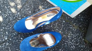 Blue dress shoes for Sale in Maple Shade Township, NJ