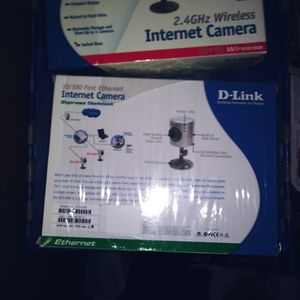 3 d link internet home security cameras for Sale in Belmont, CA