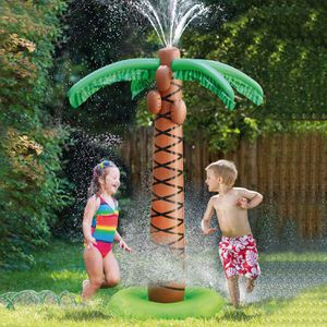 61in Water Play Sprinkler Inflatable Palm Tree 61″ Kids Spray Water Toy Summer Outdoor Play For Boys & Girls for Sale in Norfolk, VA