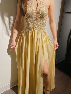 Champagne Gold Prom Dress for Sale in Cayce, SC
