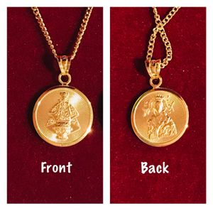 18K Solid Gold Religious Necklace for Sale in Mauldin, SC