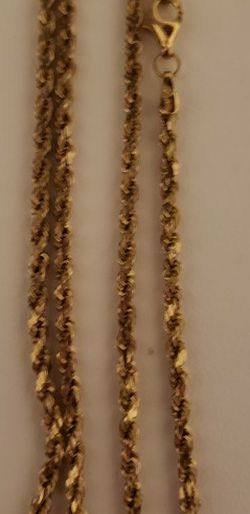 10k Gold Rope Chain for Sale in Portland,  OR
