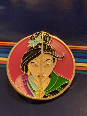 Disneys Mulan double face pin hot topic pin for Sale in North Miami, FL