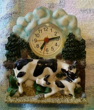 Dairy Cow Desk Clock for Sale for sale  Garden Grove, CA