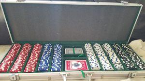 Poker Set (Aluminum Case) for Sale in Sanger, CA