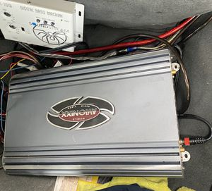 Amplificador para bass 2 canales 2400 watts AVIONIXX for Sale in West Covina, CA