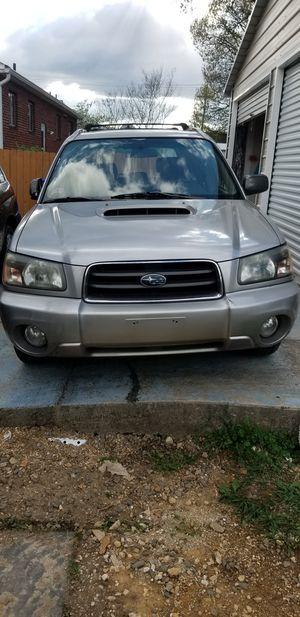 Subaru forester tubo se vende tal como esta x falta de espacio título limpio asientos de cuero for Sale in Arlington, VA