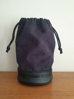 Olympus Leather Suede Lens Case Pouch for Sale in Cape Coral,  FL