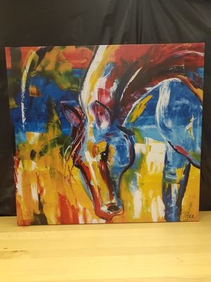 Canvas Horse Art for Sale in Sarasota, FL