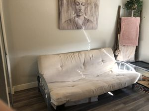 Futon couch, full size mattress for Sale in San Diego, CA