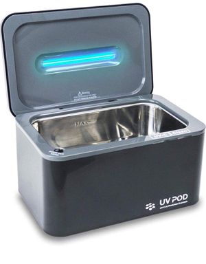 Ultrasonic Cleaner & UV Light Sanitizer, Professional Jewelry Cleaner Machine for Rings, Watches, Earrings, Baby Pacifier, Eyeglasses, Dentures for Sale in Upland, CA
