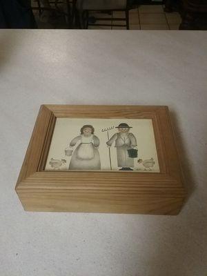 Wood box for Sale in Milton, FL