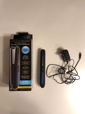 Cordless travel-size hair straightener for Sale in Washington, DC
