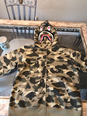 Camouflage BAPE Hoodie for Sale in Alpharetta, GA