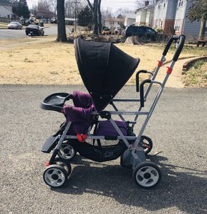 Purple Baby & Toddler Double Stroller for Sale in Springfield, VA